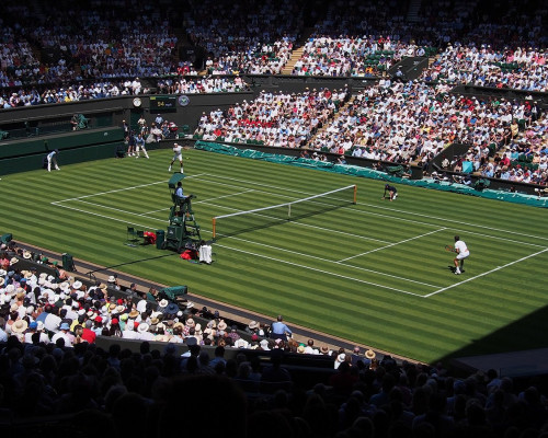 Why the Piezoelectric Effect is Tennis' Technological Ace